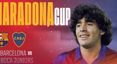 Barcelona e Boca Juniors disputarão Copa Maradona em homenagem à lenda argentina