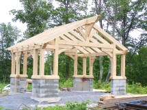 Gazebo Green Mountain Timber Frames Middletown Springs