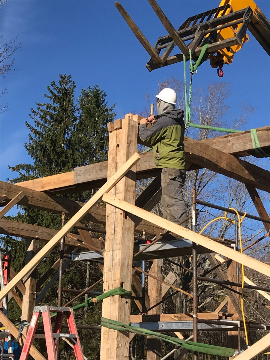 Barn Green Mountain Timber Frames Middletown - Year of Clean Water