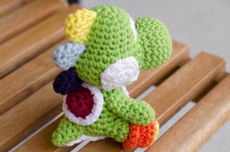 Crochet Yoshi Amigurumi
