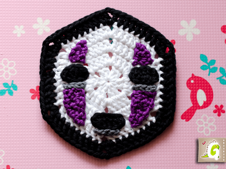 Crochet No-face hexagon