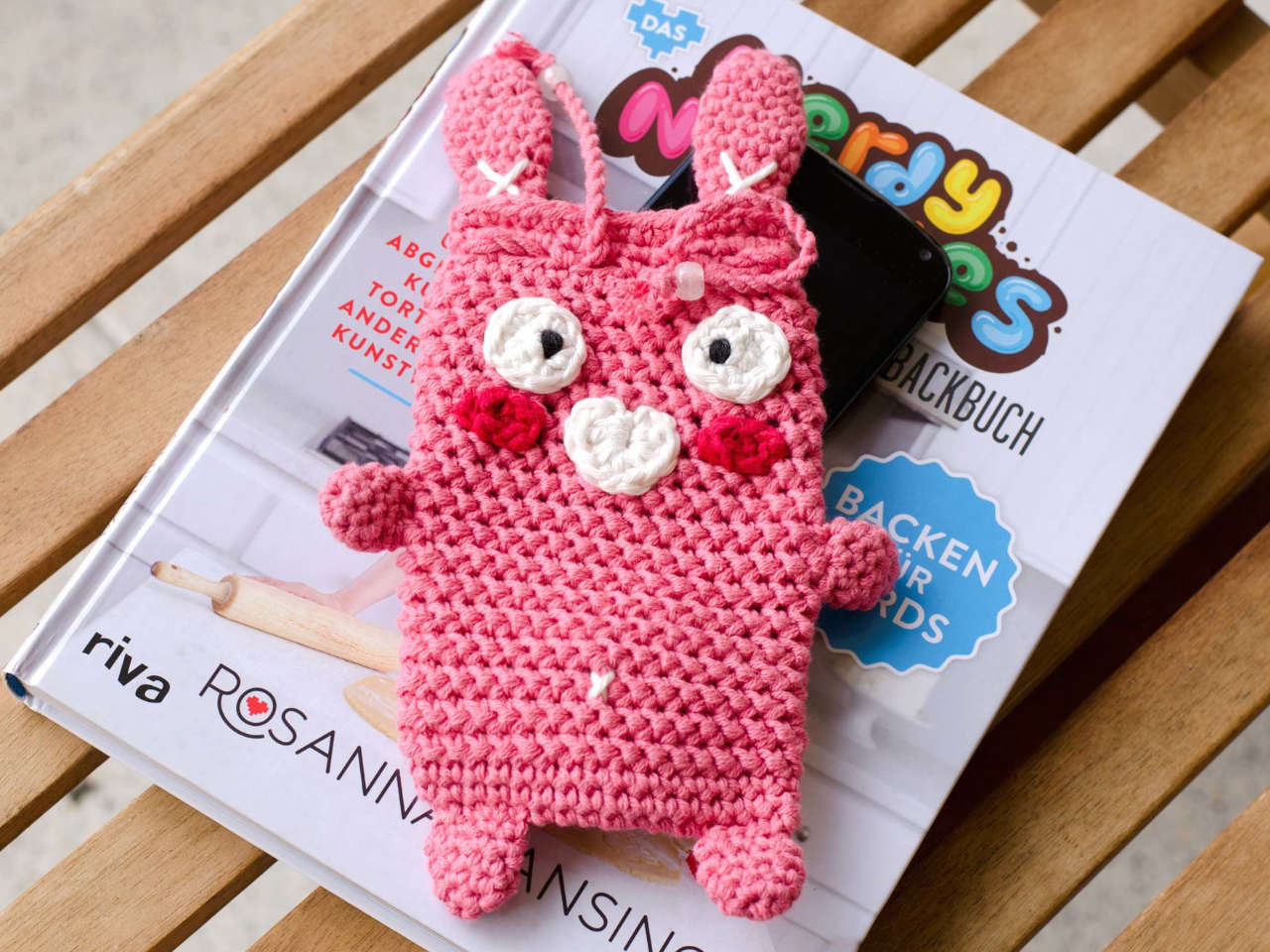 Crochet Bunny Purse