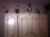 Gnomes of top of the closet