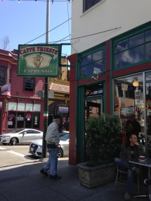 Caffe trieste, San francisco walk, little italy