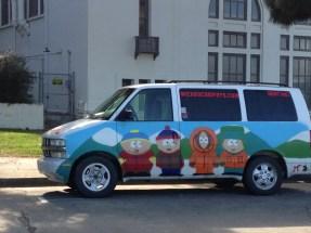 Fort Mason, San Francisco walk, Maritime National Historic Park, South Park Van
