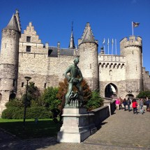 Steen Castle, Antwerp, Belgium