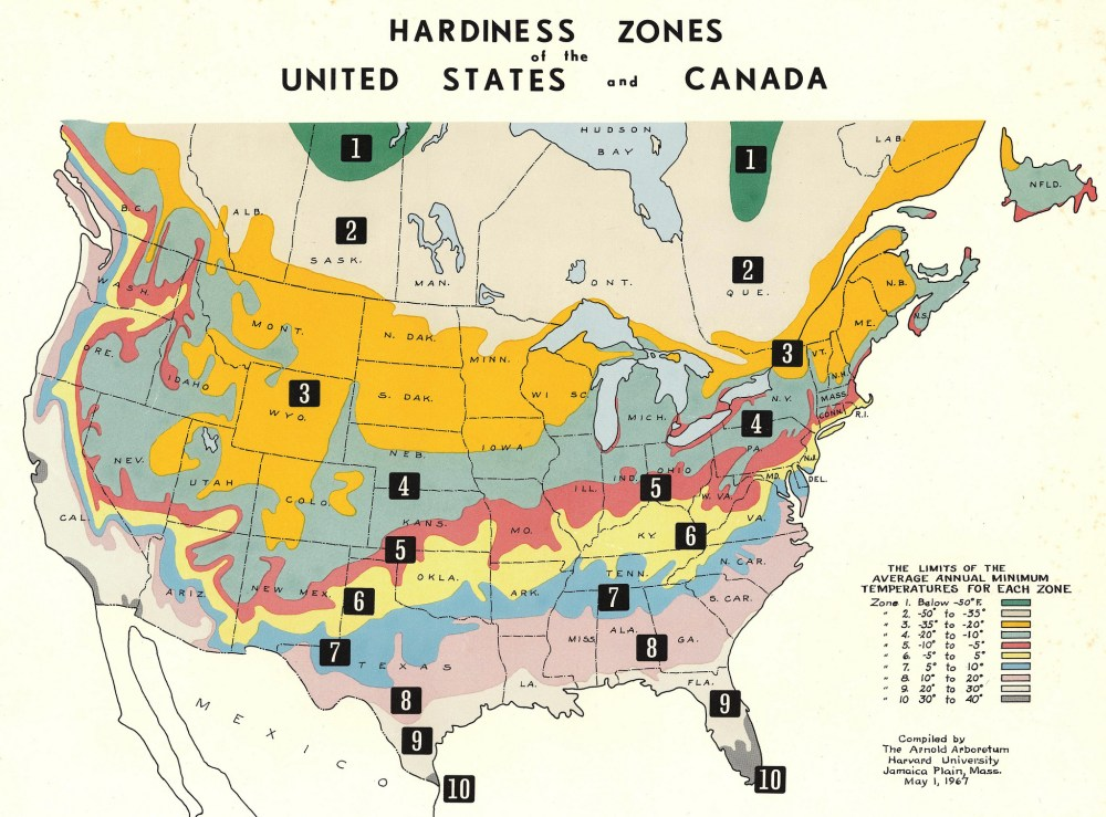 May 1967 Map