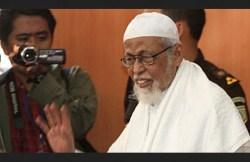 Abu Bakar Baasyir Dirawat di Rumah Sakit Sejak Senin, Kalapas Gunung Sindur Sebut Kondisinya Sudah Membaik
