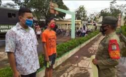 Razia Prokes Sasar Wilayah Perbatasan Kendal-Temanggung, 57 Warga Tak Disiplin Diganjar Sanksi