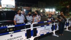 Penting !!! Meminimalisir Terjadinya Kerumunan, Mulai Hari Ini 10 Ruas Jalan di Kota Semarang Ditutup Lagi