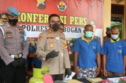 Komplotan Pencuri Sepeda Motor di Wilayah Grobogan dan Demak Digulung Polisi