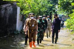 Pembangunan Tanggul Darurat Sungai Gelis Terkendala Cuaca