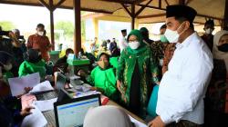 Percepatan Vaksinasi Covid-19 di Tegal, Gus Yasin Minta Para Santri Berperan