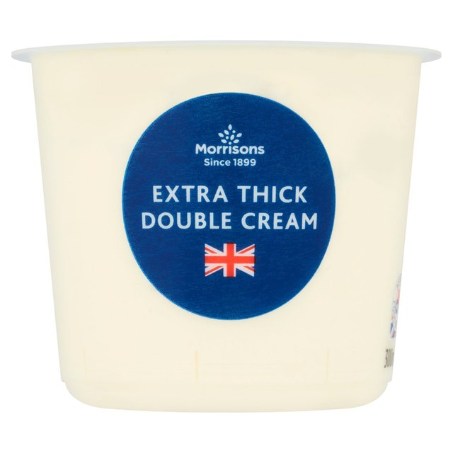 Morrisons: Morrisons Extra Thick Double Cream 300ml ...