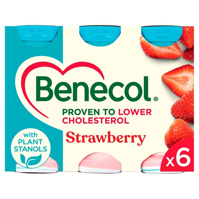 Morrisons: Benecol Strawberry Yogurt Drink 6 x 67.5g ...