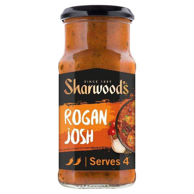 Morrisons: Sharwood's Rogan Josh Medium Curry Sauce 420g(Product Information)