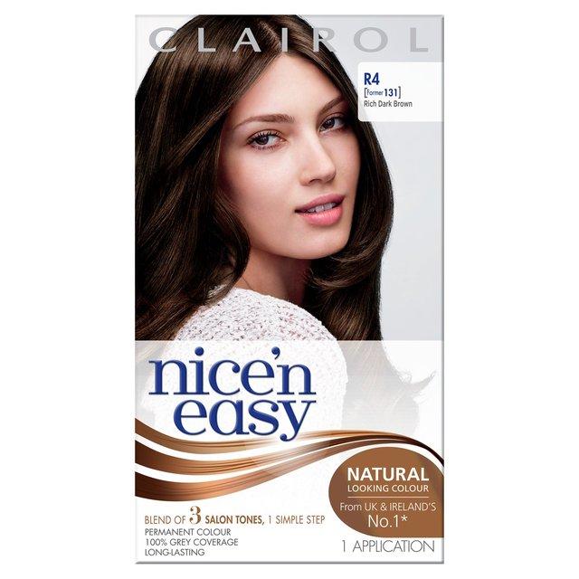 nice n easy hair color dark brown morrisons nice n easy