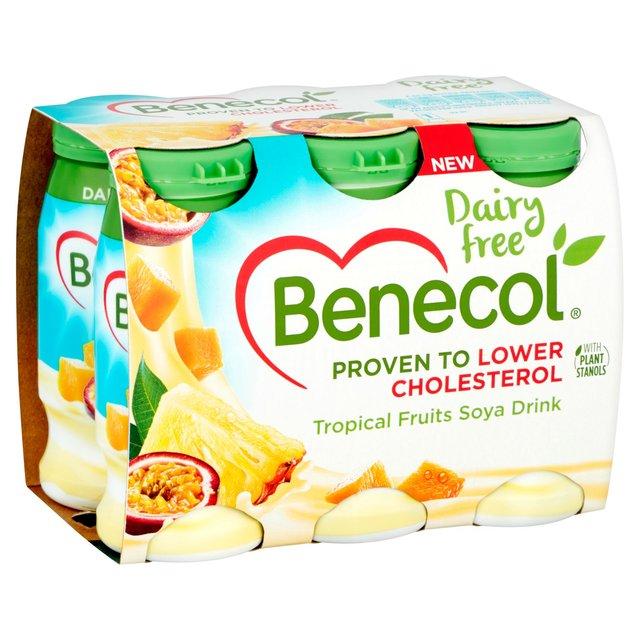 Morrisons: Benecol Dairy Free Tropical Yogurt Drink 6 x 67 ...