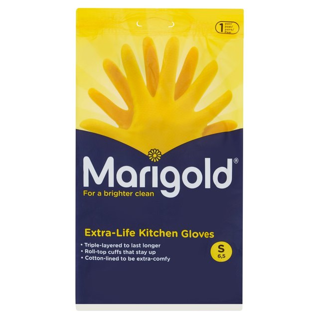 Morrisons Marigold Kitchen Gloves Small Product Information
