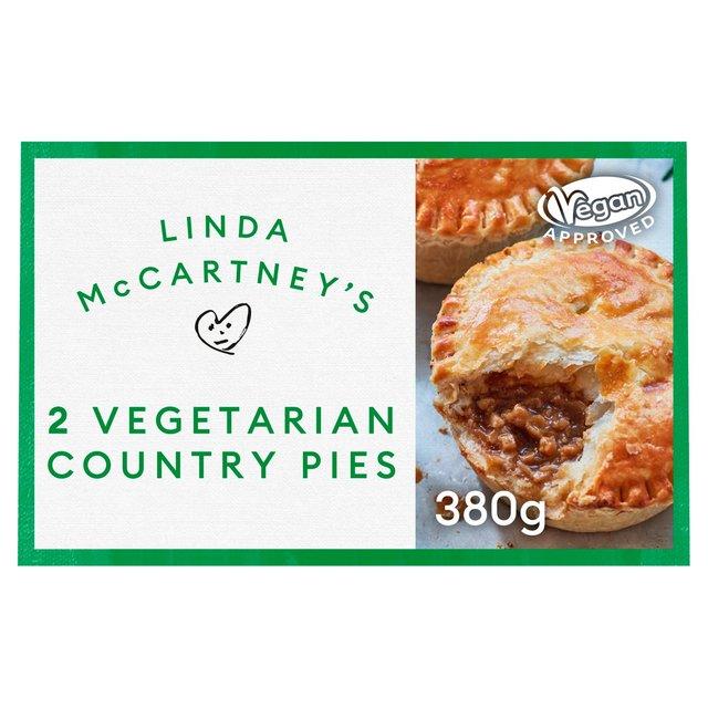 Morrisons Linda McCartney 2 MeatFree Country Pies 380g