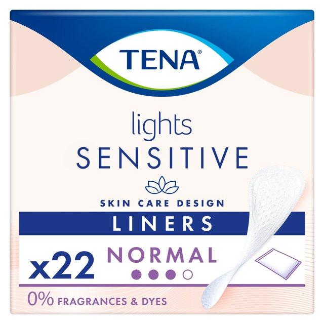 Morrisons Lights By Tena Single Liner Box 22 Per Pack