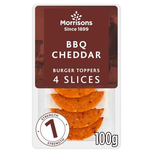Morrisons Cheddar With Bbq Burger Slices