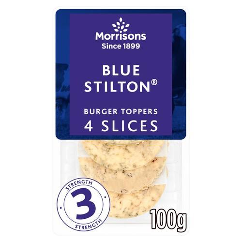 Morrisons Blue Stilton Burger Slices