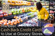 The Best Cash Back Credit Cards to use at Grocery Stores