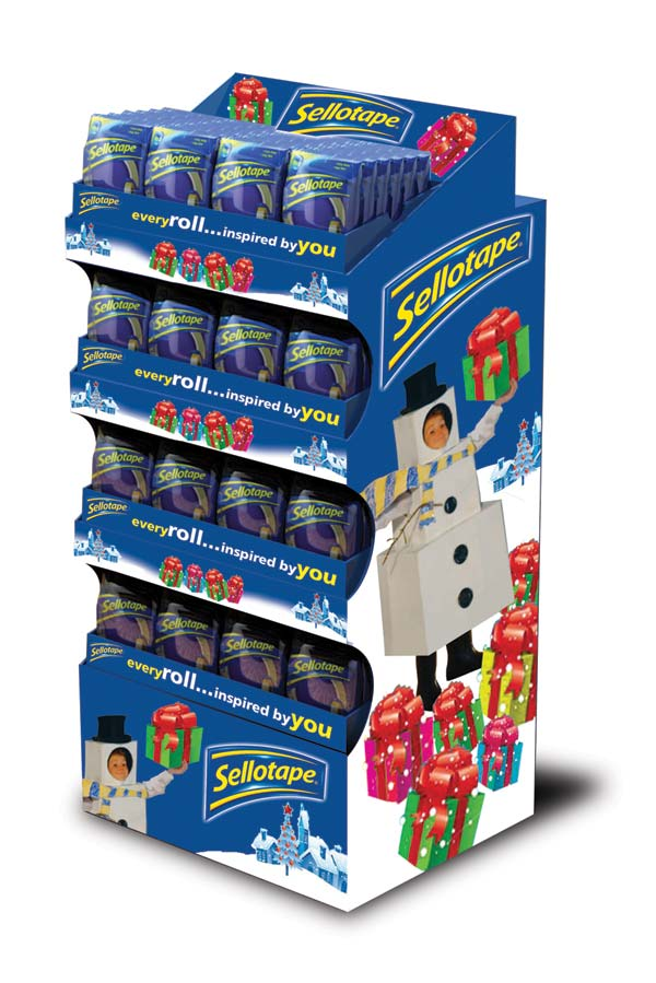 Sellotape is a must-stock for Christmas   The Grocery Trader