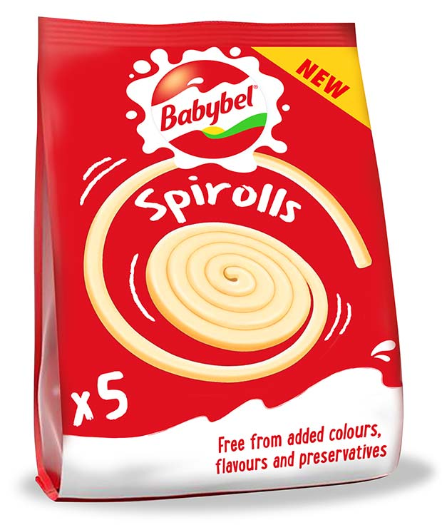 New Mini Babybel Spirolls  Grocery Trader