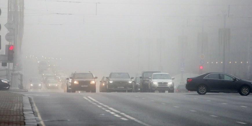 МЧС предупреждает о распространении тумана на большей части страны