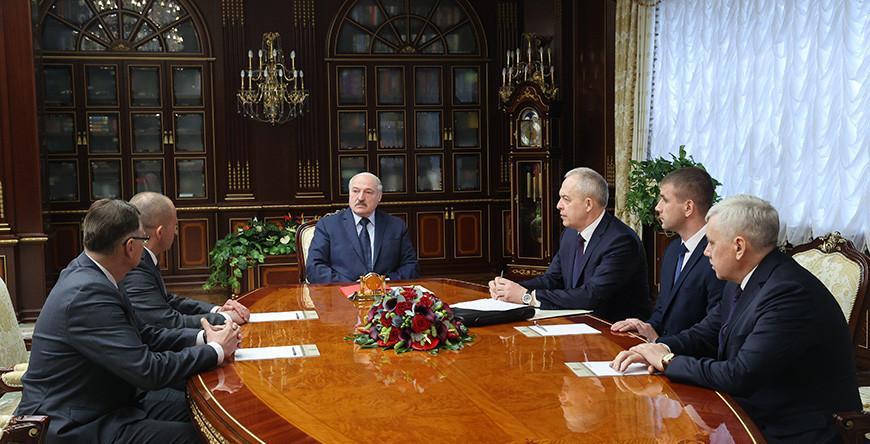 Новые кадры в системе МВД и местной вертикали - Александр Лукашенко рассмотрел кадровые вопросы
