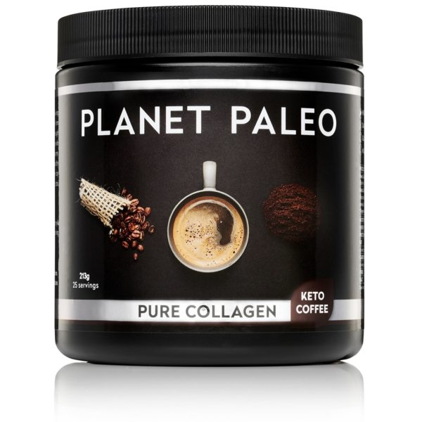 Pure Collagen Keto Coffee collageen poeder Planet Paleo