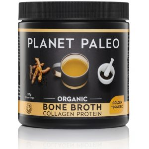 Kurkuma Bone Broth Collagen Protein Golden Turmeric Bio potje