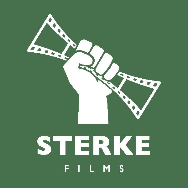 logo sterke films wit