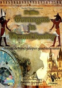 filmposter gevangen in virtual reality