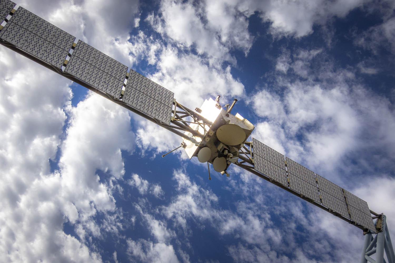 Satelliet van verwaarloosde Expo '92