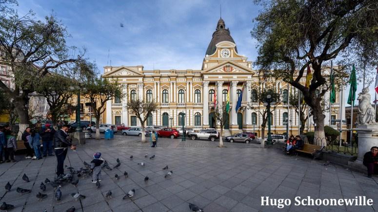 Plaza Murillo in La Paz