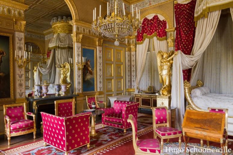 Rode slaapkamer Palais de Compiegne