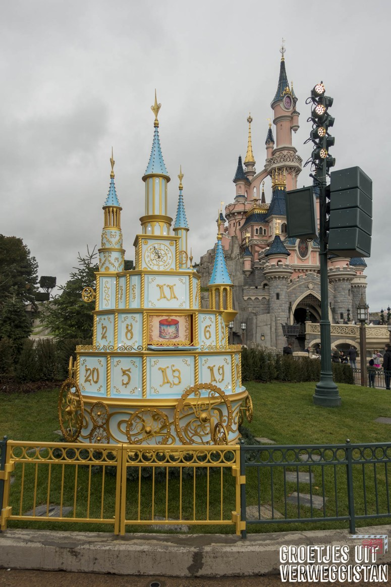 The Enchanted Advent Calender in Disneyland Paris