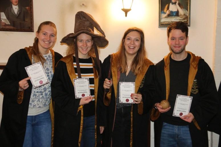 Harry Potter escape room in Londen: Enigma Quest escape room gehaald