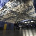 Metrokunst in Stockholm: de langste kunstgalerij ter wereld