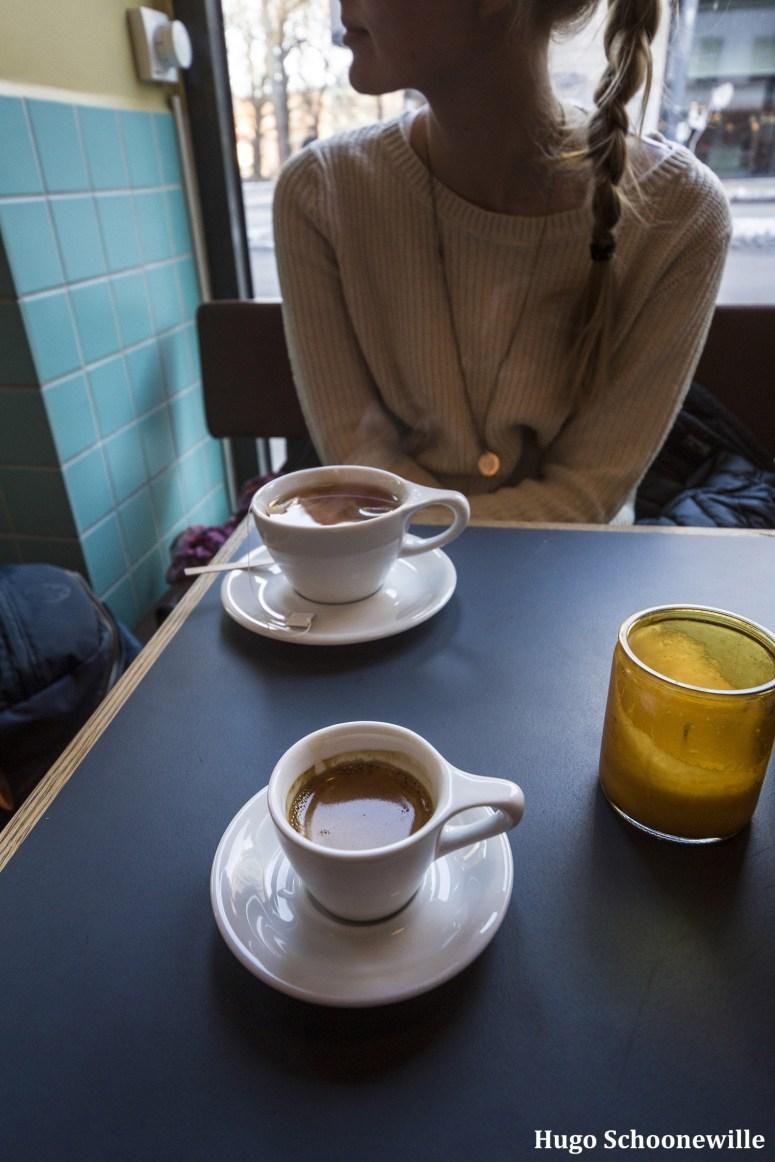 Hoe duur is Oslo? Koffie drinken in Oslo bij Peloton.
