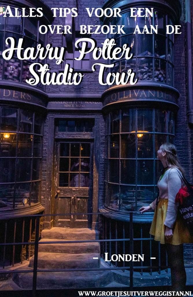 Pinterest afbeelding: Ollivanders in de studio's