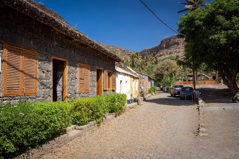 Rue de Banana: de oudste straat op het eiland Santiago in Cidade Velha.