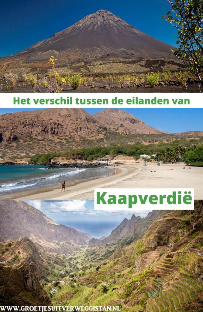 Pinterestafbeelding: Het verschil tussen de eilanden van Kaapverdië