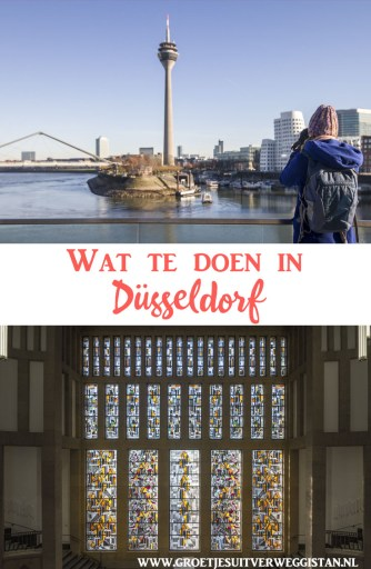 Pinterestafbeelding: wat te doen in Düsseldorf?