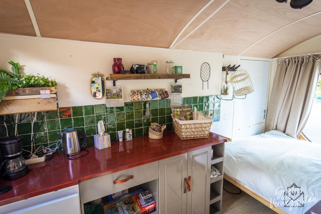 Het Streekhuisje van Doorgedraaid met een keukentje