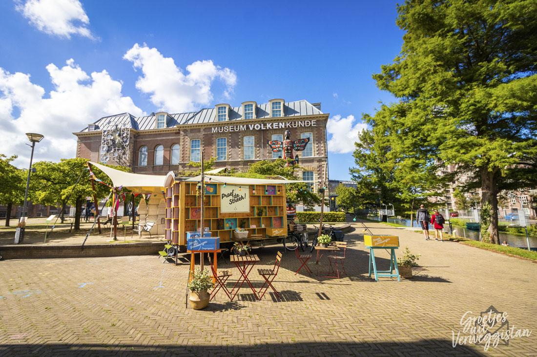 Een weekendje Leiden in het pop-up Streekhuisje voor Museum Volkenkunde.