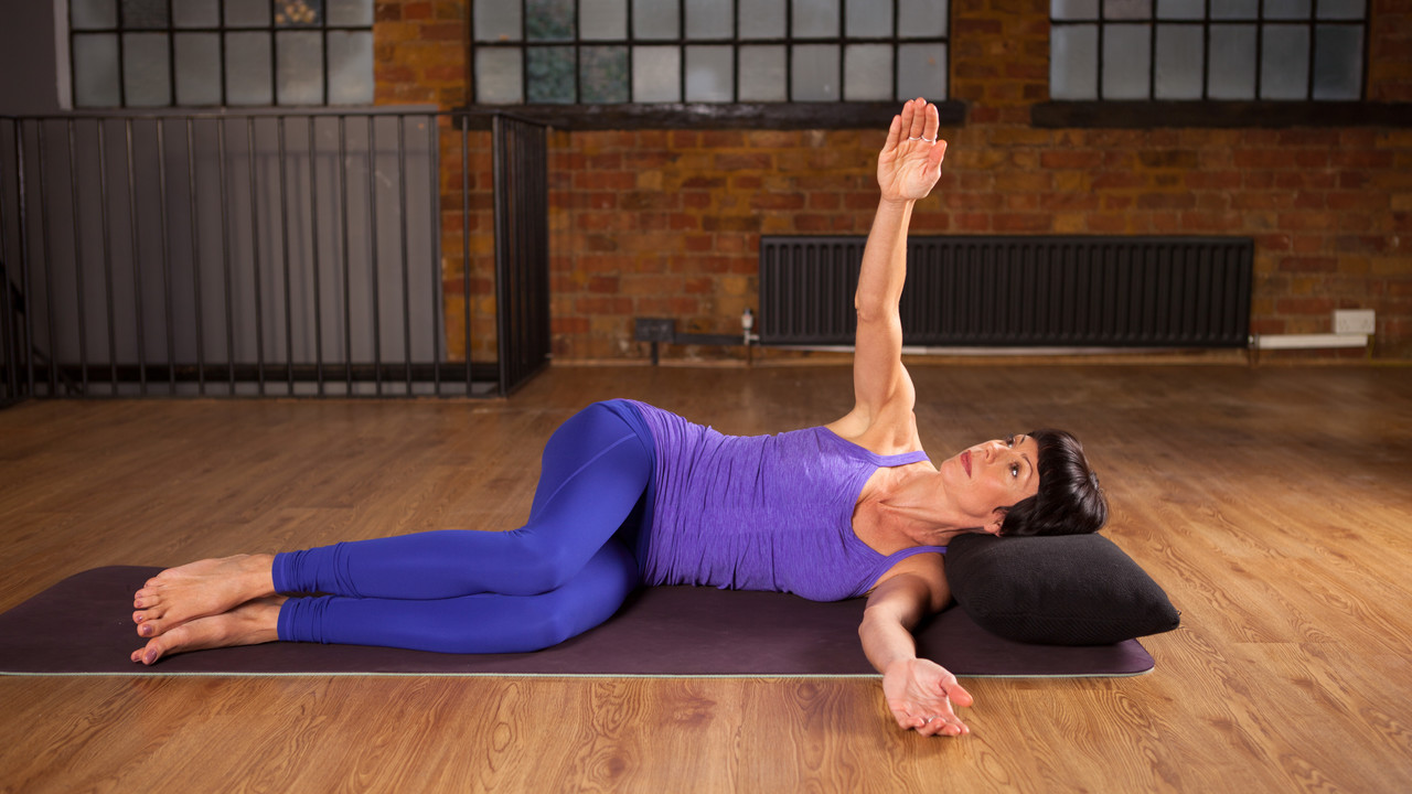 Arm and Shoulder Pain Relief  Freedom From Pain  Yoga Videos  Grokker